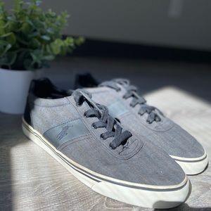 Polo Ralph Lauren Black & Gray Shoes